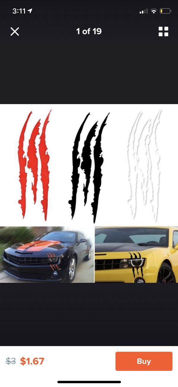 Monster Sticker for car