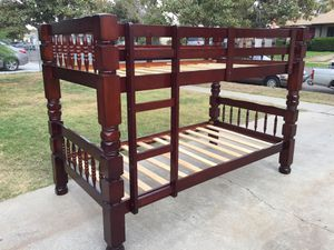 Bunk bed frame in good conditions. for Sale in Fresno, CA