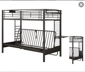 Twin futon bunk bed for Sale in Greenwood Village, CO