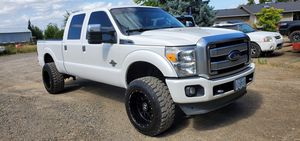 2013 Ford F350 Platinum for Sale in Woodburn, OR