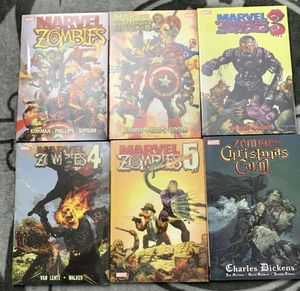 Marvel HC Zombie Graphic Novel bundle for Sale in Westfield, MA