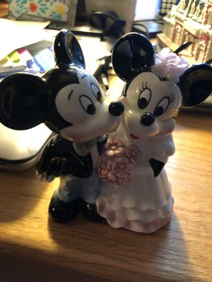 Bride and groom Mickey and Minnie for Sale in Sterling, VA
