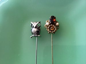 Two Vintage Stick Pins for Sale in Sierra Vista, AZ