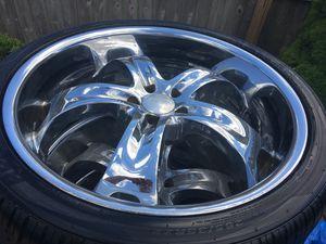 "Boss Motorsport 22"" inch Rims & Tires for Sale in Melrose Park, IL"