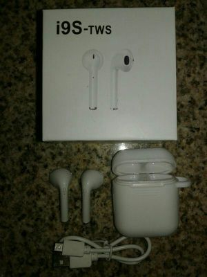 Authentic Airpod I9S TWS Twins Bluetooth Earbuds Mini Wireless Earphones Headset, works for Iphones and Android for Sale in Phoenix, AZ