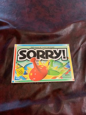 """""""Sorry"""" board game for Sale in Raleigh, NC"""