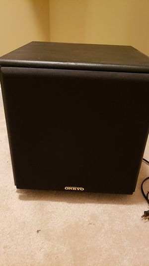 Onkyo sk10 powered subwoofer for Sale in Maryville, TN