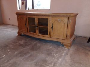Entertainment Cabinet for Sale for Sale in Mesa, AZ