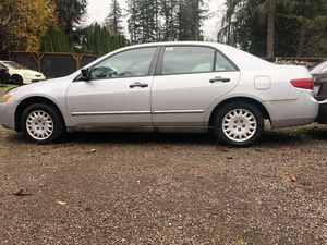 2005 HONDA ACCORD 130k mi. Needs clutch for Sale in Woodinville, WA
