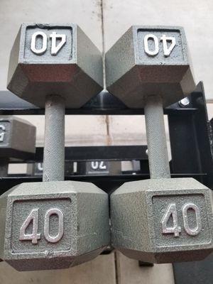 40lb Dumbbells for Sale in Phoenix, AZ