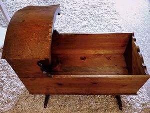 Antique Wooden Baby Cradle for Sale in Crofton, MD