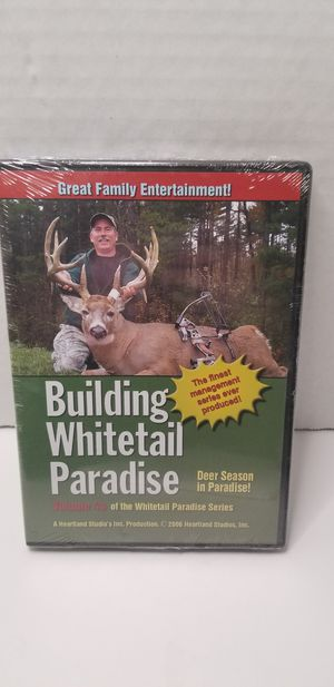 Building whitetail paradise dvd for Sale in Piney Flats, TN