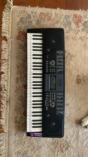 Keyboard with bench and stand for Sale in Sloan, NV
