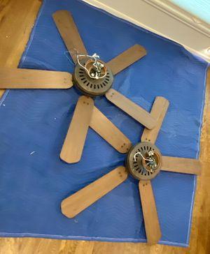 FREE 2 52 inch 5 blade ceiling fans for Sale in Abilene, TX
