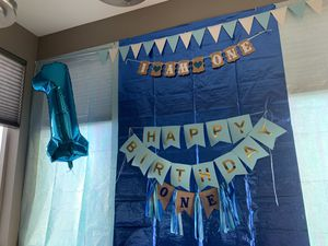 1 year birthday decorations for Sale in Erie, CO