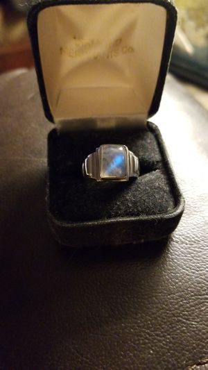 Moonstone Sterling Silver Ring for Sale in Monongahela, PA