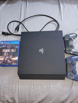 PS4 PRO (BLACK) 1TB for Sale in Atlanta, GA