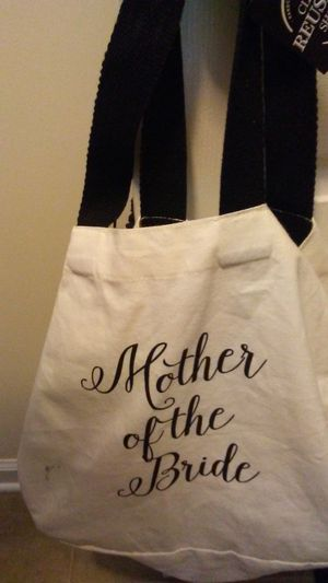 """ Mother of the bride"" tote for Sale in NC, US"