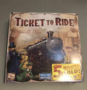 Ticket to ride - brand new! for Sale in Boston, MA