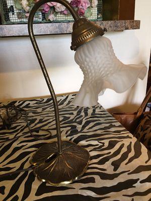 Vintage Lily Pad Goose Neck Lamp for Sale in Sunrise, FL