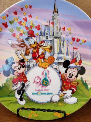 Walt Disney world plate for Sale in Stockton, CA