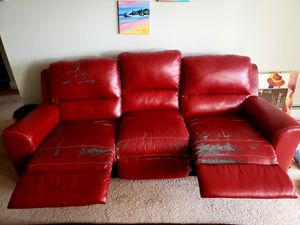 Double recliner sofa for Sale in West Chester, PA