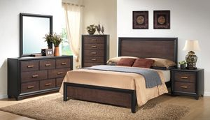 BRAND NEW IN BOX 6 Piece Bedroom Set **BRAND NEW MATTRESS INCLUDED*** for Sale in Tacoma, WA