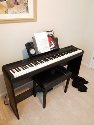 Yamaha P105 Piano Keyboard for Sale in Cary, NC