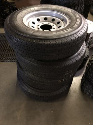 Trailer wheels and tires for Sale in Joint Base Lewis-McChord, WA