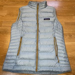 Patagonia Down Better Sweater S Blue Vest for Sale in Portland, OR
