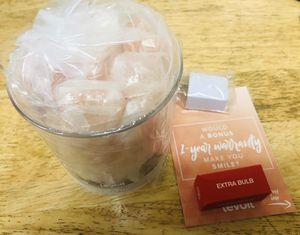 Levoit Cora Himalayan Salt Lamp, Natural Hymalain Pink Salt Rock Lamps - New In Box for Sale in Rosemead, CA
