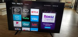"""43"""" 4k TCL Roku TV for Sale in Charlotte, NC"""