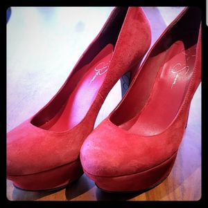Jessica Simpson Majestic Red Suede Sz8.5 for Sale in Leavenworth, WA