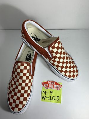 VANS Classic Slip-On (Checkerboard) for Sale in Pico Rivera, CA