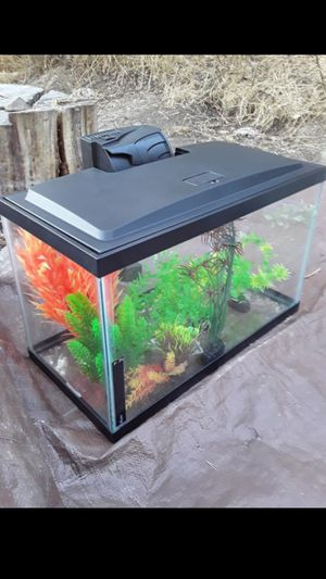 10 Gallon Fish Aquarium Starter Kit for Sale in Castro Valley, CA
