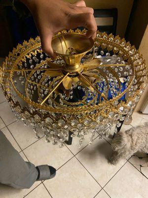 Glass chandelier for Sale in San Bernardino, CA