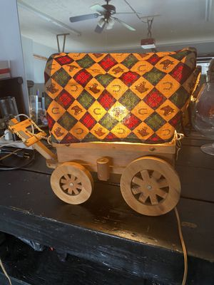 Antique 1950's wagon lamp... working for Sale in Smyrna, TN