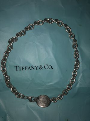 Tiffany and co necklace for Sale in Aldie, VA