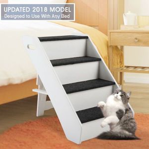 Brand New Side-guard Carpeted 4 Steps Folding Pet Stair for Sale in Los Angeles, CA