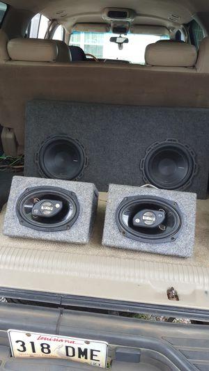 10in Rockford Fosgate P1 zepa set of 6by9s for Sale in Kolin, LA