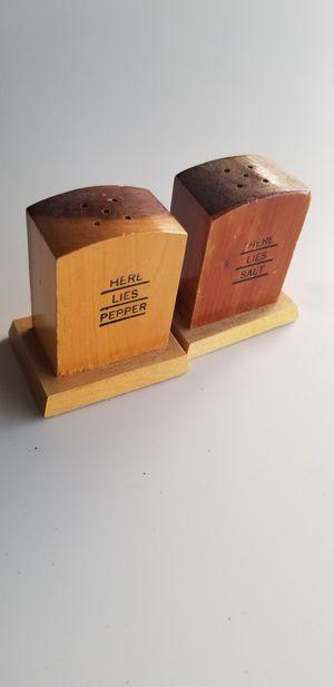 Vintage salt n pepper shakers for Sale in Yakima, WA