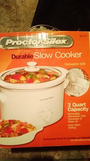Crock Pot: Proctor Silex 3 quart slow cooker for Sale in Altamonte Springs, FL