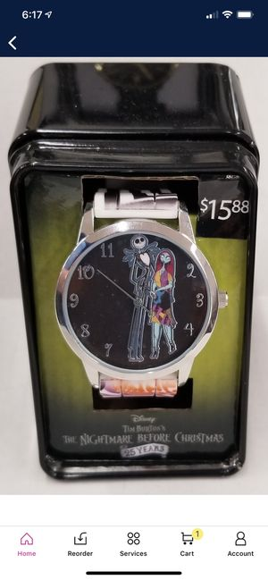 Brand New! Disney Tim Burton's The Nightmare Before Christmas Watch for Sale in Westminster, CA