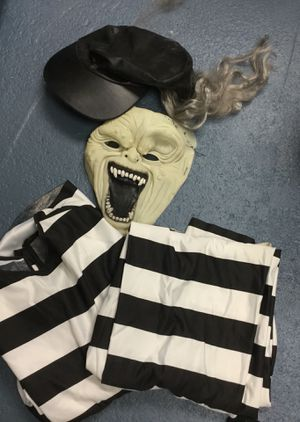 Halloween Costume Scary Jail Inmate for Sale in Scottdale, PA