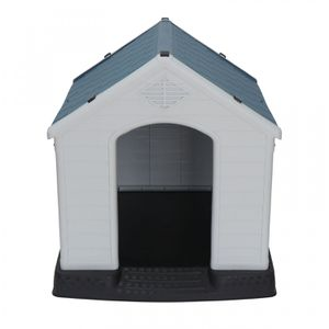 Outdoor Dog House Comfortable Cool Shelter Durable Plastic Design Home Kennel for Sale in Wildomar, CA