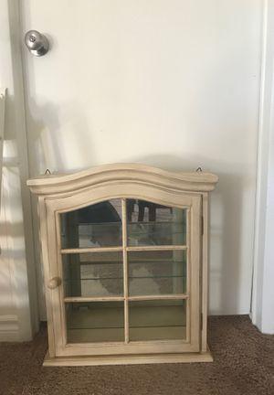 Glass cabinet for Sale in Murrieta, CA