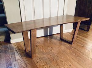 Contemporary Modern Live Edge Coffee Table for Sale in Redmond, WA