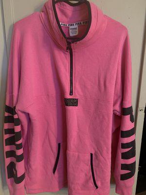 PINK quarter zip sweater for Sale in Hemet, CA