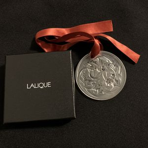 """NIB Lalique Crystal Entrelacs """"NOËL 2017"""" Handcrafted Annual Collectible Ornament for Sale in Boston, MA"""