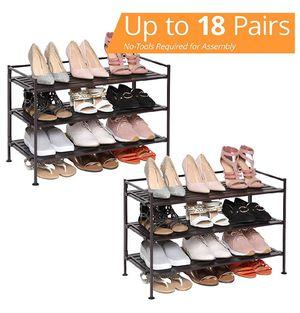 Seville Metal Frame Shoe Storage Rack for Sale in Pasadena, CA